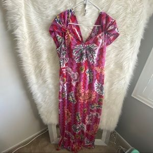 🆕 Zac Posen For Target Printed Maxi Dress
